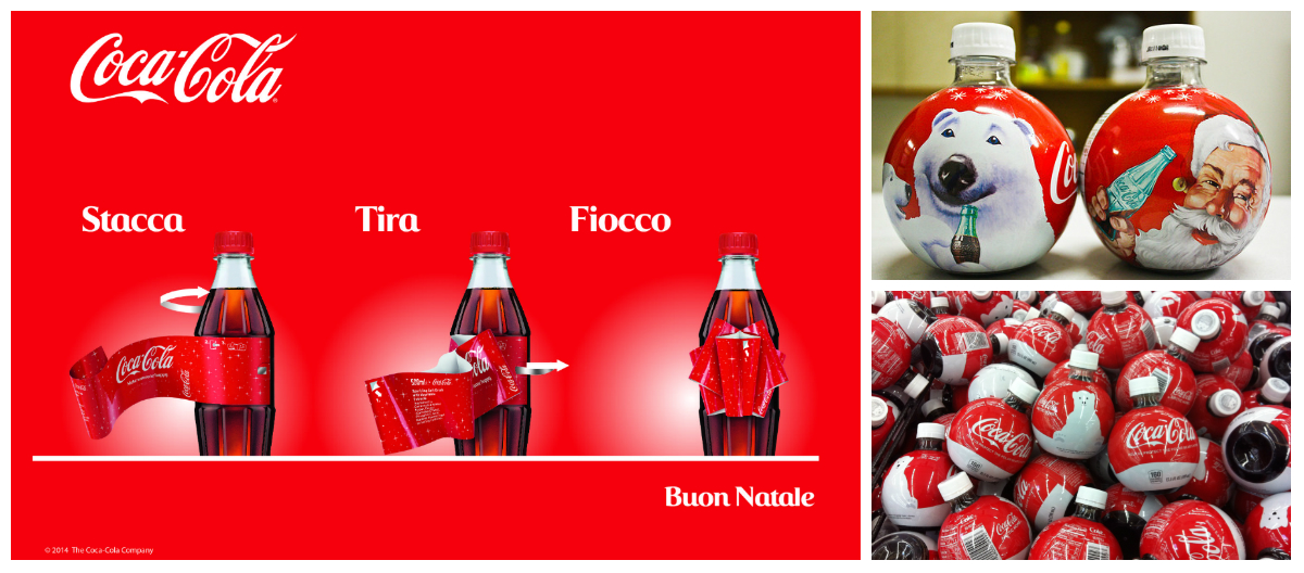 Coca-Cola Christmas Packaging