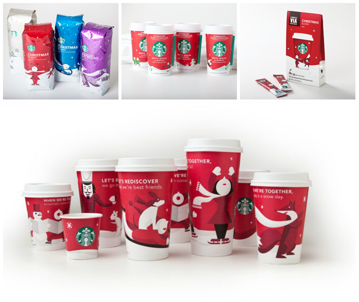 Starbucks Christmas Edition